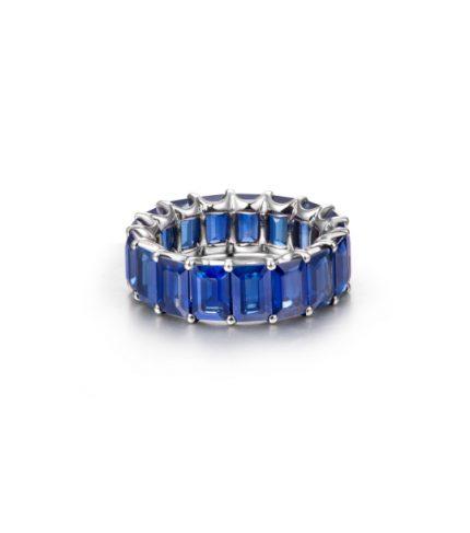 10.86ct-Blue-Sapphire-Emerald-Cut-Eternity-Band2