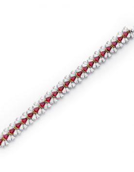 9ct-Ruby-and-Diamond-Bracelet